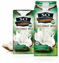 Yummy Recipes with So Delicious Coconut Milk