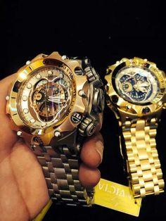 Double Venom – Beautiful Invicta watches for men. – automatic watches for men, large Big Watches, Stylish Watches, Luxury Watches, Cool Watches, Patek Philippe, Expensive Watches, Automatic Watches For Men, Devon, Omega