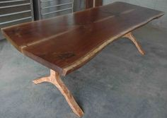 custom walnut dining table_Binder
