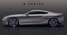2019 BMW 8-Series Rendered, Concept Debuts Later This Week #BMW #BMW_8_Series