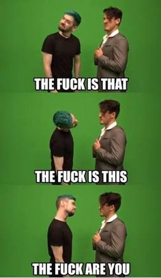 """Jacksepticeye// Anti// meme// Anti meme// Jacksepticeye meme// Markiplier// Markipler meme// Darkipler// Darkipler meme << change all the """"the""""s to da and see how much funnier it is. Pewdiepie, Jacksepticeye Memes, Youtube Memes, To Youtube, Stupid Funny, Hilarious, Darkiplier And Antisepticeye, Youtube Stars, Fandoms"""
