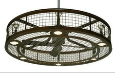 Image of: Caged Ceiling Fan Home Depot