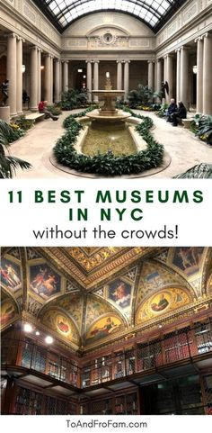 The best 11 underrated museums in NYC are among the best unique things to do in New York. Don't miss this hidden gem guide (including free museums!). New York Buildings, Nyc With Kids, Empire State Of Mind, New York Museums, Free Museums, Gem Guide, Living In New York, Beautiful Places To Travel, Road Trip Usa