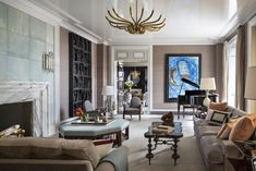 Inside a Manhattan Penthouse by Robert A.M. Stern Architects and S.R. Gambrel