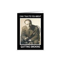 Congratulations Quit Smoking - Retro Funny Card --- http://www.amazon.com/Congratulations-Quit-Smoking-Retro-Funny/dp/B005OLZ9L0/?tag=mlpoller-20