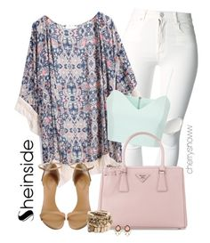 """""""Boho chic kimono spring outfit"""" by cherrysnoww ❤ liked on Polyvore"""