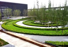 This garden was completed in May of 2013 for the Beijing Garden Expo, BAM collaborated with Peter Walker Partners  to create the design, and developed all the construction drawings and site supervision. There were some other heavy hitter landscape architects as part of the masters gardens...