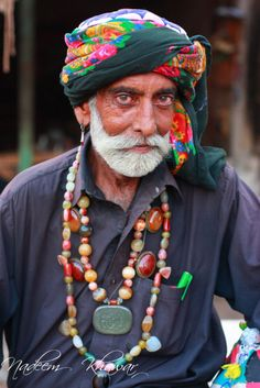 """""""Sufi Malang"""" (Mystic man) Sindh, Pakistan"""