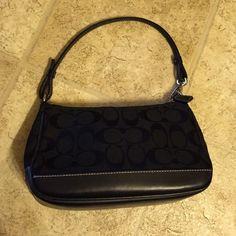 price drop Small black Coach purse Authentic Coach purse. Coach Bags Mini Bags