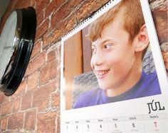 Kalendár foto na šírku
