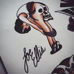 Joe Ellis Tattoo