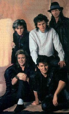 Duran Duran.... And what 13 year old girl didn't love these guys in the 80's?