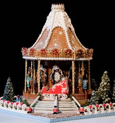 » Elaborate Gingerbread Houses « Greedy or Needy Forum