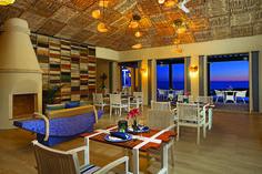 The Oceana Restaurant at the Secrets Puerto Los Cabos.