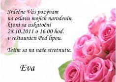 Pozvánka na oslavu jubilea - JU011 Rose, Flowers, Plants, Art, Art Background, Pink, Kunst, Plant, Performing Arts
