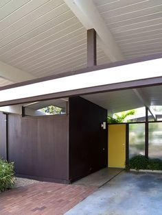 Eichler entrance. Probably in my hometown.