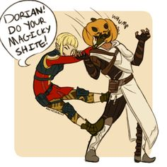Journeys of an Egghead, archievement:   halloween exists in thedas in my...