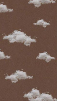 Cute Patterns Wallpaper, Aesthetic Pastel Wallpaper, Colorful Wallpaper, Aesthetic Backgrounds, Aesthetic Wallpapers, Tan Wallpaper, Iphone Background Wallpaper, Locked Wallpaper, Cloud Wallpaper