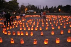 candlelit labyrinth, by Barbara Brown Outdoor Art, Art Festival, Ottawa, Art Ideas, Brown, Inspiration, Biblical Inspiration, Chocolates, Brown Colors