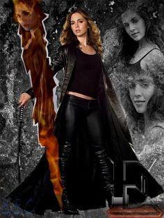 Faith from Buffy the Vampire Slayer: kick-ass! Eliza Dushku, Spike Buffy, Buffy The Vampire Slayer, Buffy Im Bann Der Dämonen, Buffy Summers, David Boreanaz, Sarah Michelle Gellar, Fantasy Movies, Joss Whedon