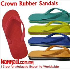 Visit- http://www.hanyaw.com.my/Products/Crown_Rubber_Sandals_CH-715.html