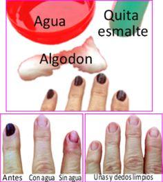 Como evitar las manchas en los dedos. http://www.lostipsdeangela.com/2014/10/sorprendente-como-evitar-dedos-y-unas.html
