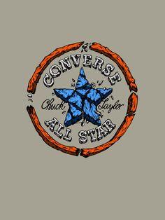 New post on rawbdz Converse Wallpaper, Wallpaper Backgrounds, Iphone Wallpaper, Converse Logo, Converse Classic, Art Logo, Graffiti Art, Cartoon Art, All Star