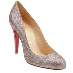 Christian Louboutin New light yellow pumps $125.00 www.christianloub...