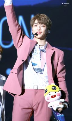 Him and the plushie are twins Harry Potte, Perfect Peach, Daniel K, When You Smile, Produce 101 Season 2, Youre Mine, Seong, Ji Sung, South Korean Boy Band