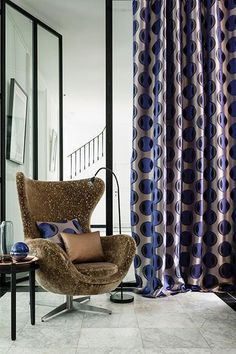 New Collection INEDIT by CASAMANCE  The Inédit collection takes a strong colour bias: the blues, greens and ochres are full of references to the intense, deep colours of nature. The beautiful natural fabrics, such as silk and linen, magnify the patterns, both by their texture and by their delicate sheen.