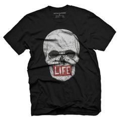 LIFE Skull Men's T Shirt