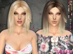 The Sims Resource: Hair - 01 by sims2fanbg  - Sims 4 Hairs - http://sims4hairs.com/the-sims-resource-hair-01-by-sims2fanbg/