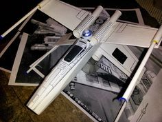 space derby rocket design  star wars X-wing fighter for Cub Scouts.