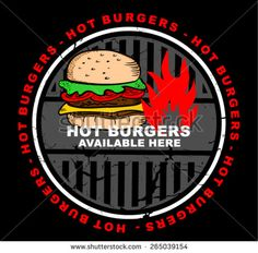 american, available, banner, beverage, bun, burger, cheeseburger, cuisine, delicious, design, dinner, fast, fastfood, fat, food, gourmet, hamburger, here, hot, icon, illustration, label, lunch, market, meal, meat, menu, order, pictogram, place, promotion, quality, restaurant, retail, sandwich, service, sign, silhouette, snack, symbol, tasty, template, text, trade, vector