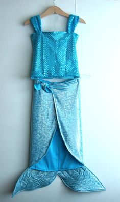 Diy Mummy Costume, Sea Costume, Halloween Costume Contest, Diy Mermaid Tail, Mask For Kids, Mermaid Birthday, Little Dresses, Sewing For Kids, Playing Dress Up
