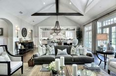 South hamptons living room