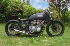 Bobber Inspiration | 1978 Suzuki GS750 bobber | Bobbers and Custom Motorcycles