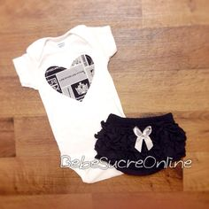 Los Angeles Kings Outfit by BebeSucreOnline on Etsy a4ee5aa16e99