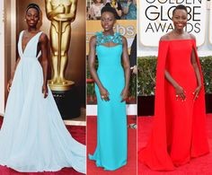 Shout out to lupita nyong'o she has the best red carpet dresses...EVER!