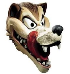 I bought This! My husband wore this with a pin striped zoot suit! He was a GaNgSter WolF! - The Girls went CrAzY!  Best Big Bad WOlf Mask!
