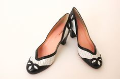 40's style heels / Re-Mix Shoes