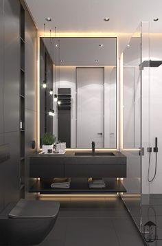 30 Easy and Simple Bathroom Bettering Ideas You Can Do. 30 Easy and Simple Bathroom Bettering Ideas You Can Do. Bathroom Design Luxury, Simple Bathroom, Modern Bathroom Design, Bathroom Ideas, Bathroom Designs, Colorful Bathroom, Bathroom Small, Modern Bathrooms, Bathroom Organization