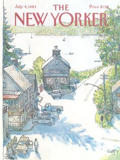 The New Yorker - Monday, July 4, 1983 - Issue # 3046 - Vol. 59 - N° 20 - Cover by : Arthur Getz