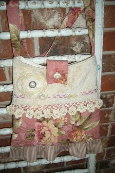 Shabby Chic Pink Floral Many Textured by specialfromrachel, $35.00