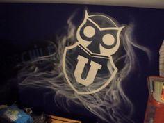 graffiti de izak en habitación, u de chile