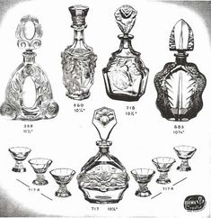 Weil Ceramics & Glass Inc. Catalog For Barolac Sculpture Glass - Czech Bohemian Glass That Is Often Found With Fake or Forged R. Lalique France Signatures: Page 6 Bohemia Crystal, Czech Glass, Bohemian, Ceramics, Sculpture, Antiques, Catalog, France, Design