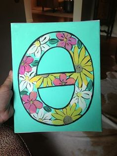 I want a floral theta, but no black outlines around the theta. You can do whatever colors you think look good (or whatever paints you have leftover).