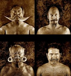 The famous Belgian photographer Serge Anton has realized this fantastic series photo on beards and mustaches. This series of photo is a magnificent work that highlights the cut of mustache and beard but also material and texture.