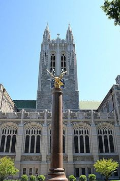 Explore the Boston College Campus in This Photo Tour: Gasson Hall at Boston College