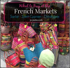 Saint-Cyprien Market - What to Buy. This is a fabulous French market in the Dordogne region. See our photo gallery and best buys. French Souvenirs, Paris Souvenirs, Best Restaurants In Paris, Paris Hotels, Paris Travel Tips, Romantic Paris, Paris Shopping, Visit France, Dordogne